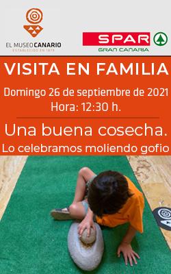 EL MUSEO CANARIO  -  Visita en Familia - «Una buena cosecha»  - 12:30 horas
