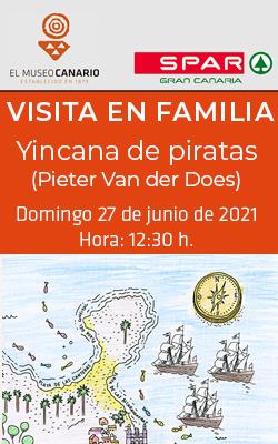 EL MUSEO CANARIO  -  Visita en Familia - «Yincana de piratas»  - 12:30 horas