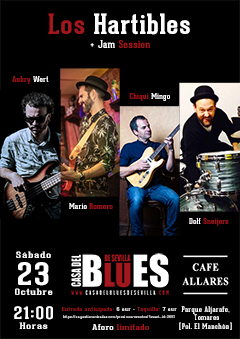 Los Hartibles + Jam Session de la Casa del Blues de Sevilla