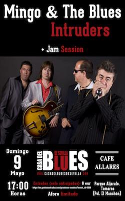 Lolo Ortega + Jam Session de la Casa del Blues de Sevilla