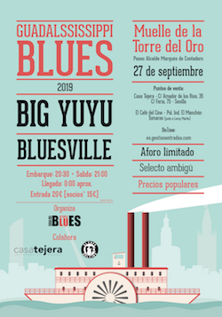 Guadalssissippi Blues Septiembre 2019