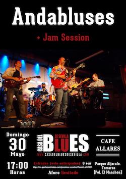 Andabluses + Jam Session de la Casa del Blues de Sevilla