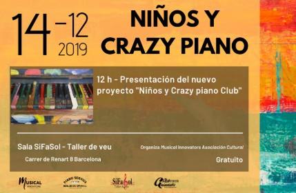 Niños y Crazy Piano