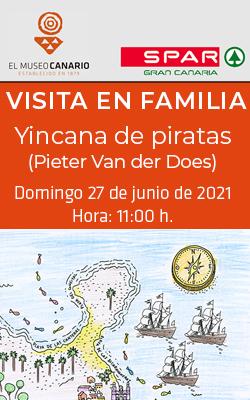 EL MUSEO CANARIO  -  Visita en Familia - «Yincana de piratas»  - 11:00 horas