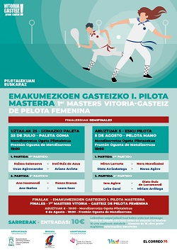 Semifinal 2 -Emakumezkoen Gasteizko I.Pilota Masterra