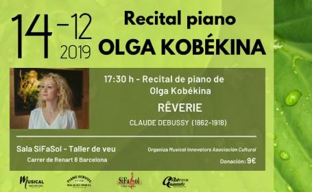 Recital de piano Olga Kobékina